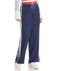 Joie - Perlyn Silk Track Pants - Lyst