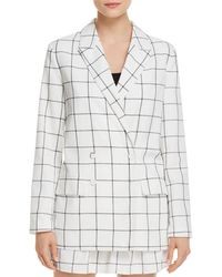 The Fifth Label - Atticus Double-breasted Check-print Blazer - Lyst