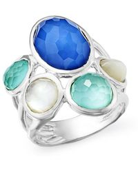 Ippolita - Sterling Silver Wonderland Mother - Of - Pearl Doublet Statement Ring - Lyst