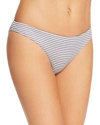 Eberjey - Sea Stripe Annia Bikini Bottom - Lyst