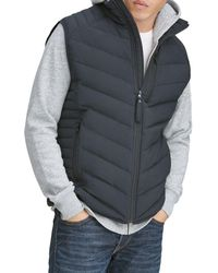 Marc New York - Withers Packable Quilted Down Vest - Lyst