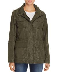 Vince Camuto - Coated Camo Raincoat - Lyst