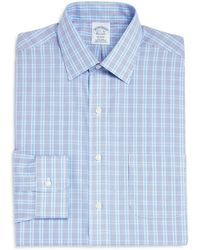 Brooks Brothers - Double Check Classic Fit Dress Shirt - Lyst