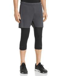 Isaora Sprinter Hybrid Shorts - Black