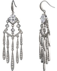 Carolee - Drama Chandelier Earrings - Lyst