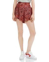 Maje - Imona Shorts - Lyst
