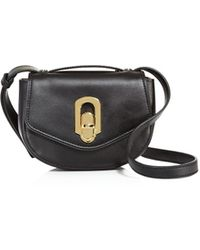 Ivanka Trump - Chelsea Flap Mini Leather Crossbody - Lyst
