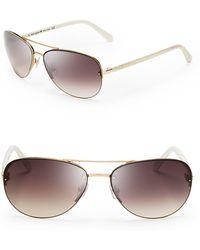 Kate Spade - Women's Beryl Aviator Sunglasses - Lyst