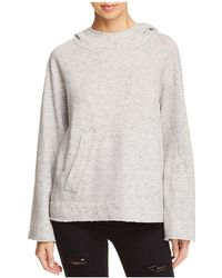 Splendid - Cowl-neck Hooded Sweatshirt - Lyst