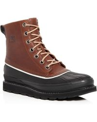 Sorel - Men's Madson 1964 Waterproof Leather Cold Weather Boots - Lyst