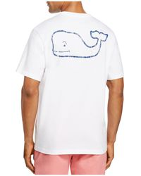 Vineyard Vines - Vintage Whale Pocket Tee - Lyst