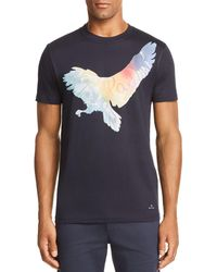 PS by Paul Smith - Bird Graphic Tee - Lyst