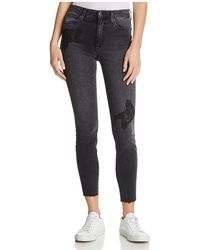 Joe's Jeans - The Charlie Appliqué Ankle Skinny Jeans In Sonata - Lyst