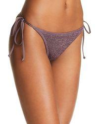 L*Space - Lily Side Tie Bikini Bottom - Lyst