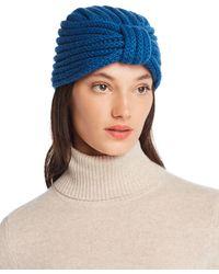 Rosie Sugden - Knit Cashmere Turban Hat - Lyst
