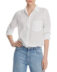 DL1961 - Mercer & Spring Collared Shirt - Lyst