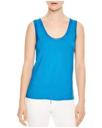 Sandro - Actrice Ribbed Tank - Lyst