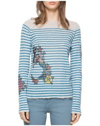Zadig & Voltaire - Miss Ter Cashmere Sweater - Lyst