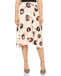 Reiss - Marson Printed Chiffon Skirt - Lyst