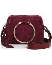 MILLY | Astor Suede Camera Bag | Lyst