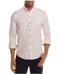 W.r.k. - Reworked Speckled Regular Fit Button-down Shirt - Lyst