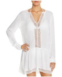 Athena - Cabana Tunic Swim Cover-up - Lyst