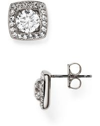 Nadri - Swarovski Crystal Stud Earrings - Lyst