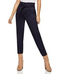 BCBGeneration - Paperbag Waist Ankle Pant - Lyst