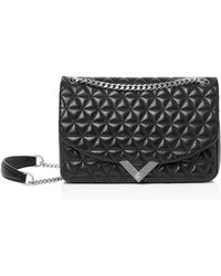 The Kooples - Stella Small Quilted Leather Shoulder Bag - Lyst