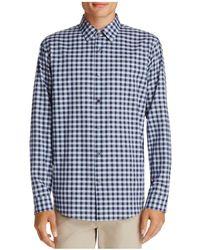 Theory - Sylvain Piran Long Sleeve Button-down Shirt - Lyst