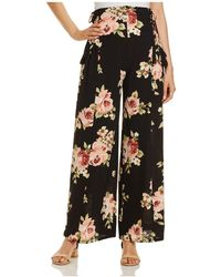 Band Of Gypsies - Rose Wide-leg Trousers - Lyst