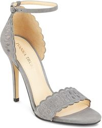 Ivanka Trump - Helina Scalloped High-heel Ankle Strap Sandals - Lyst
