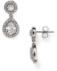 Nadri - Swarovski Crystal Drop Earrings - Lyst