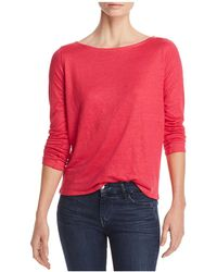 Majestic Filatures | Stretch-linen Button-back Top | Lyst