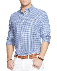 Polo Ralph Lauren - Checked Oxford Button-down Shirt - Classic Fit - Lyst