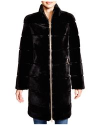 Maximilian - Maximilian Sheared Rabbit Coat - 100% Exclusive - Lyst