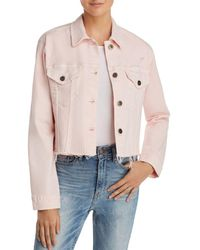 Pistola - Naya Crop Denim Jacket - Lyst