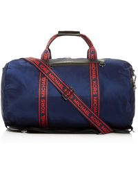 56af06e6bb3e Michael Kors Kent Camo Nylon Travel Kit in Black for Men - Lyst