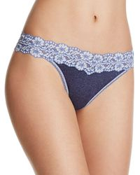 Hanky Panky - Heather Original-rise Thong - Lyst