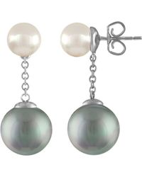 Majorica - Simulated Pearl Drop Earrings - Lyst