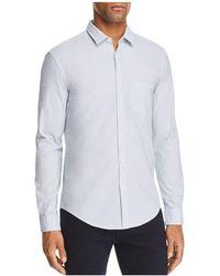 BOSS Green | Bise Dobby Pattern Long Sleeve Button-down Shirt | Lyst