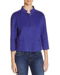 Armani - Three-quarter Sleeve Jacket - Lyst