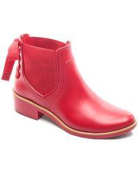 Bernardo - Women's Bow Rain Booties - Lyst