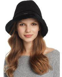UGG - Shearling Bucket Hat - Lyst