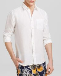 Vilebrequin - Linen Button-down Shirt - Regular Fit - Lyst