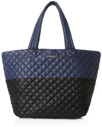 MZ Wallace - Oxford Metro Large Color Block Tote - Lyst