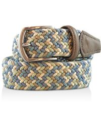 Andersons - Andersons's Multicolor Stretch Belt - Lyst
