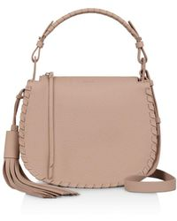 AllSaints - Mori Top Handle Crossbody - Lyst