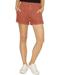 Sanctuary - Explorer Linen Shorts - Lyst