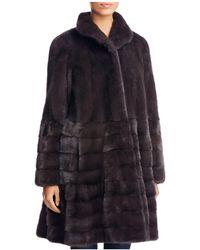 Maximilian - Saga Mink Fur Coat - Lyst